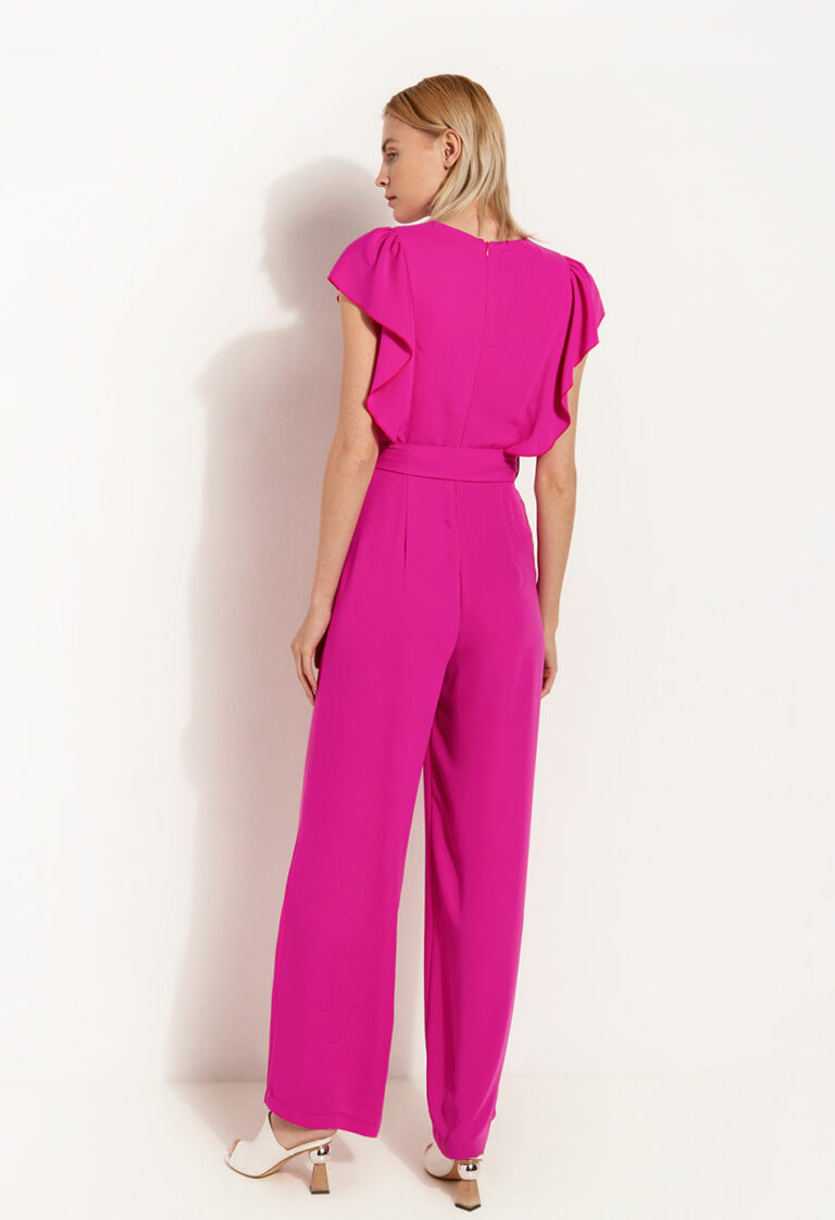 Desiree Jumpsuit With Ruffles