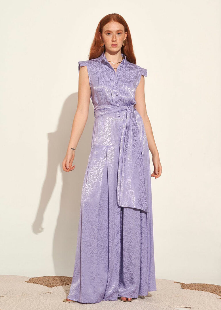 Lace Doha Silky Jumpsuit