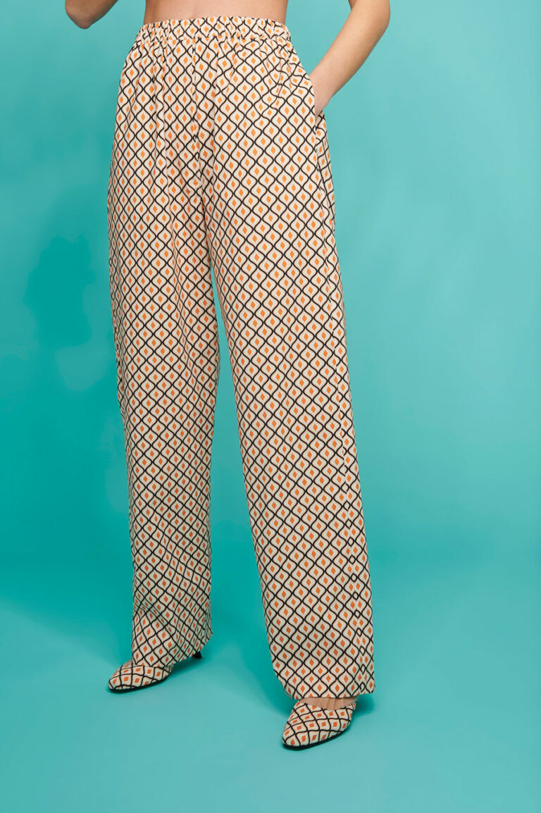 SunSet Go Day Off Print Pants