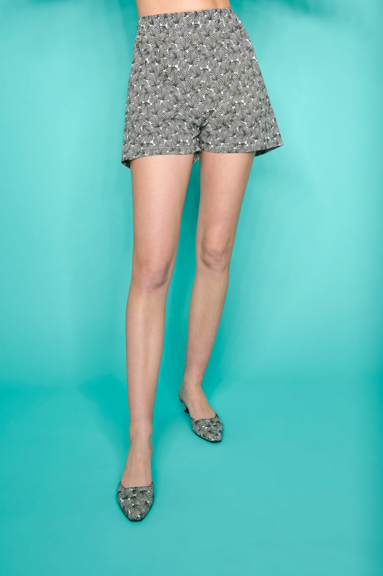 SunSet Go Day Off Print Shorts Shell Print