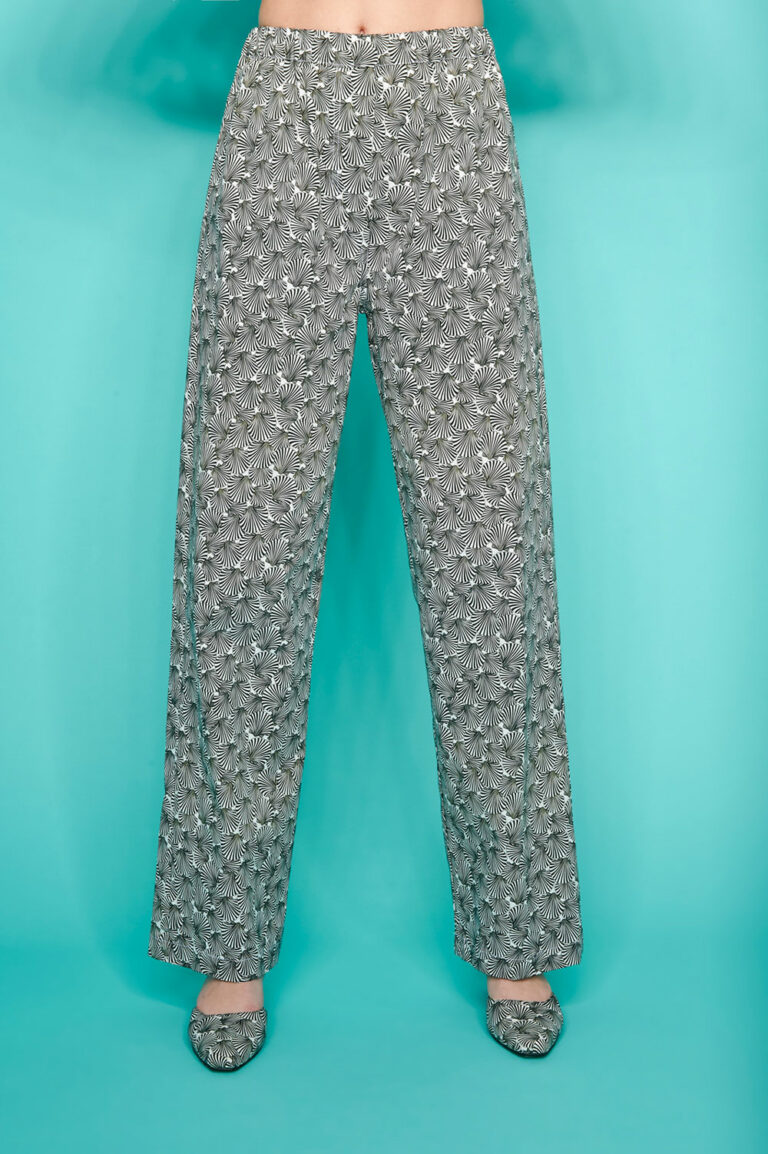 SunSet Go Day Off Pants Shell Print