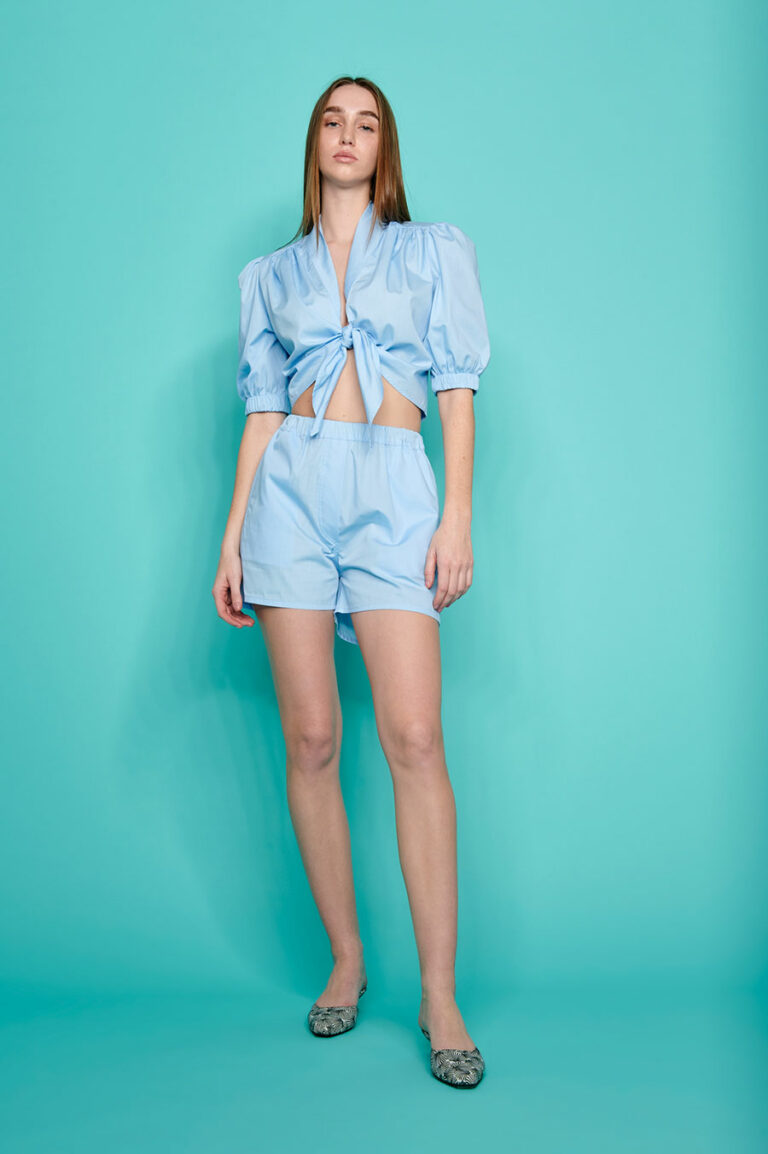 SunSet Go Day Off Shorts Monochrome Light Blue