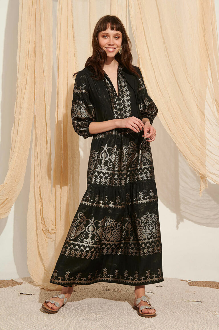 Lace Andros Embroidered Dress
