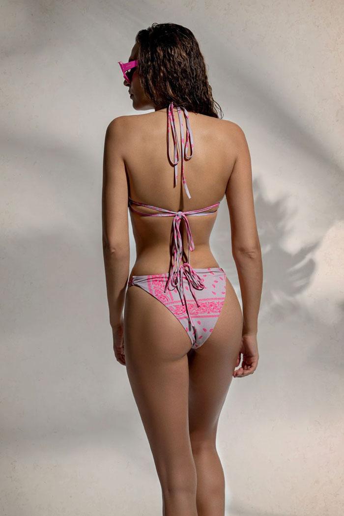 Peace & Chaos Skimpy Bandana Bikini