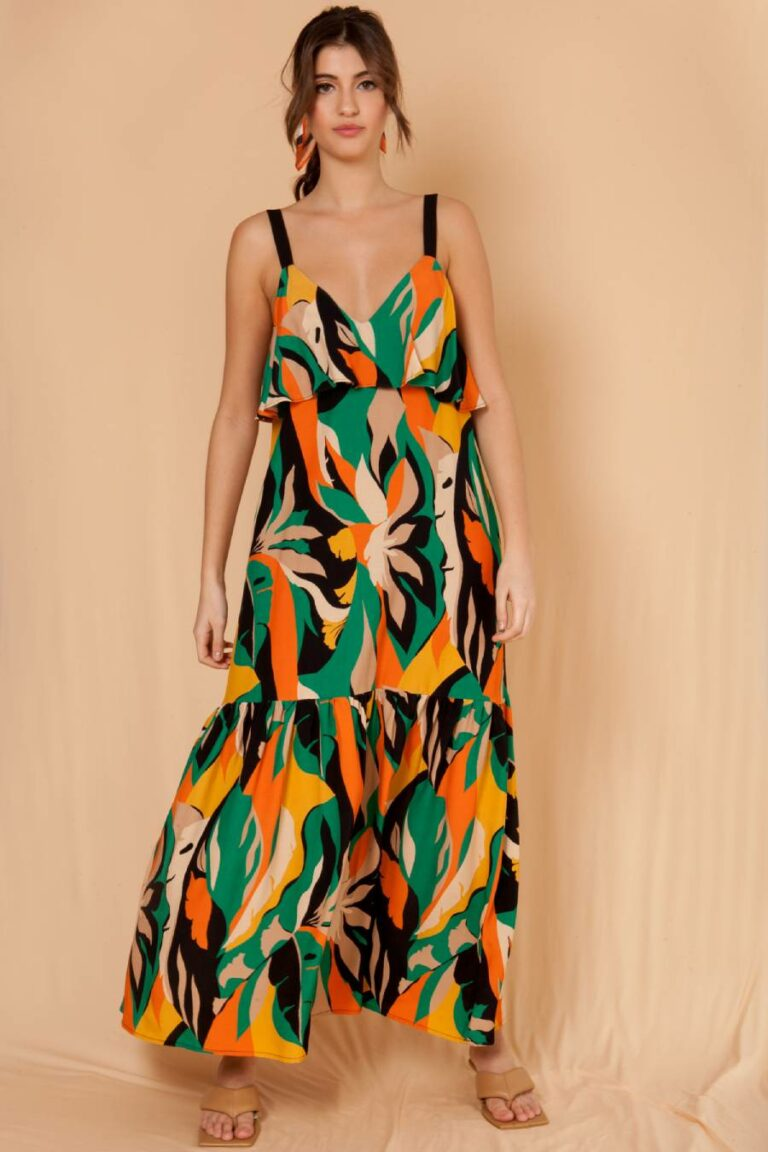 Mallory The Label Nuvola Green Dress