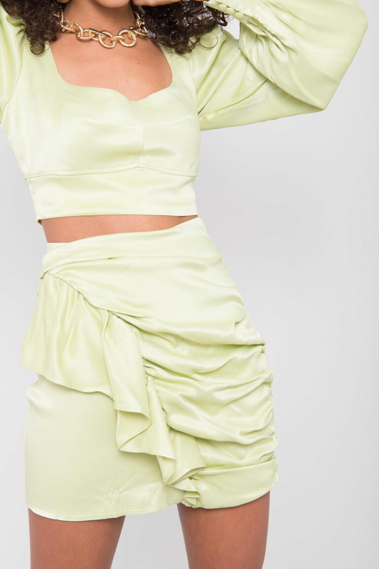 Babymilk Frill Detailed Co-Ord Set