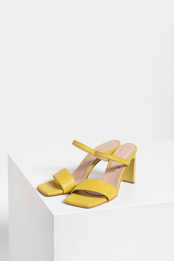 Be On Victoria Leather Mules