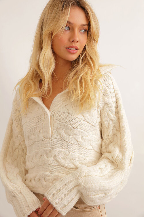Babymilk Trend Style Cable Knit