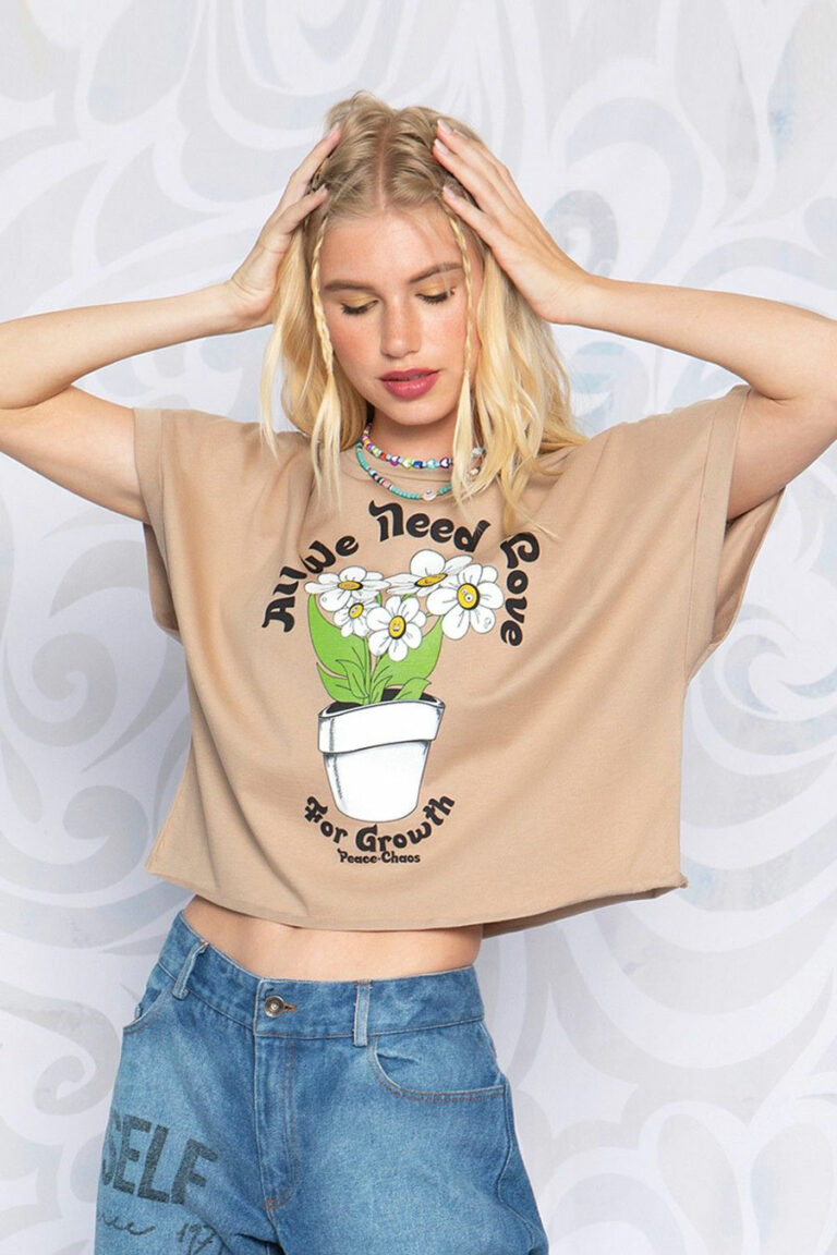 Peace & Chaos For Growth T-Shirt